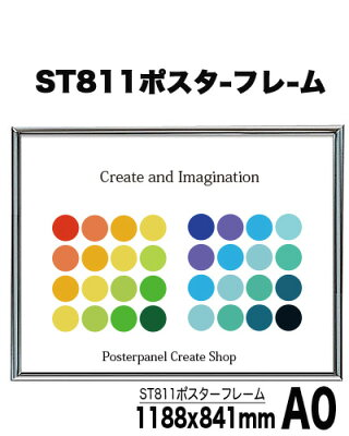 ST811ポスターパネルB1