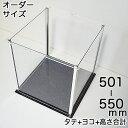アクリルコレクションケース246BL 【オーダーサイズ】タテ...