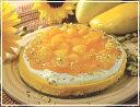 マンゴーを贅沢にのせました。マンゴーチーズケーキ