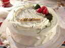 パパジョンズからホワイトクリスマスをあなたにストロベリー&クリームショートケーキ