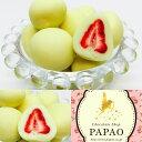 ショコラドフレーズ ホワイト苺チョコ 100g メッセージカード付き☆パパオ PAPAOチョコレート