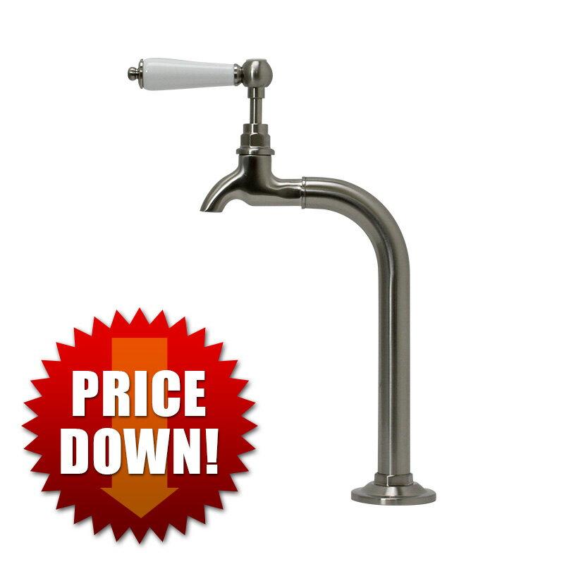 【今だけ大幅値下げ】フィッシャーマン(ニッケル) 水道蛇口 単水栓