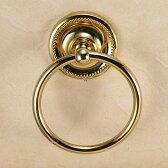 おしゃれな真鍮製タオル掛け・タオルリングS(ヴィクトリアン・ブラス)|アンティーク調ゴールド色【P11Sep16】