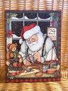 LANG ラング クリスマスカード サンタ Santa's ...