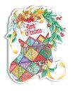 Carol Wilson キャロルウィルソンクリスマス ギフトタグ 6枚セット 袋入りクリスマス ソックスChristmas Stocking