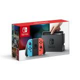 【新品】【NSW】 Nintendo Switch Joy-Con(L) ネオンブルー/(R) ネオンレッド [ニンテンドー スイッチ 本体][HAC-S-KABAA][お一人様1点限り]