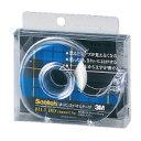 住友スリーエム (811-1-18D) スコッチ はってはがせるテープ 小巻 18mm×15m ディスペンサー付☆