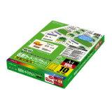コクヨ (LBP-VCS15) カラーレーザー&カラーコピー用名刺カード クリアカット 10面 100枚☆