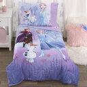 【決算セール割引商品】ディズニー アナと雪の女王2 子供 寝具 4点 セット 子供用布団 子供用寝具 トドラーベッディング CrownCrafts