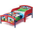 Online ONLY(海外取寄)/ ディズニー ミッキーマウス トドラーベッド 子供 3-6歳 Delta デルタ 子供用ベッド 子供部屋