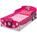 Online ONLY(海外取寄)/ デルタ ディズニー ミニーマウス ウッデン 子供用 ベッド 女の子 1歳半から Delta