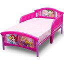 デルタ ディズニー プリンセス 子供用ベッド 女の子 3-6歳 トドラーサイズ