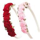 プリンセス カチューシャ ピンク レッド コスチューム アクセサリー ハロウィン 衣装 子供