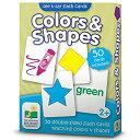 知育玩具 ラーニング ジャーニー フラッシュカード カラー&シェイプ 色 形 2歳から 英単語 暗記 ゲーム