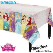 ディズニー プリンセス 243cm×137cm テーブルカバー アムスキャン