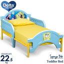 Online ONLY(海外取寄)/ スポンジボブ 子供用ベッド 3-6歳 デルタ 子供 男の子 女の子 トドラーベッド Delta