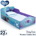 デルタ ディズニー アナと雪の女王 ウッデン 子供用 ベッド...
