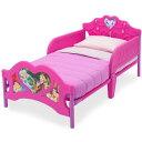 Online ONLY(海外取寄)/ デルタ ディズニー プリンセス 3D 子供用ベッド 女の子 2歳から