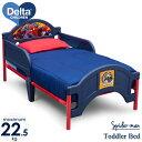 12月中旬1入荷予約販売/ デルタ スパイダーマン トドラーベッド 子供 男の子 3-6歳 子供部屋 子供用ベッド