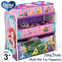 【P5倍・11月19日20時から】ディズニー プリンセス マルチ おもちゃ箱 子供部屋 デルタ 3-6歳 Delta tb83353ps
