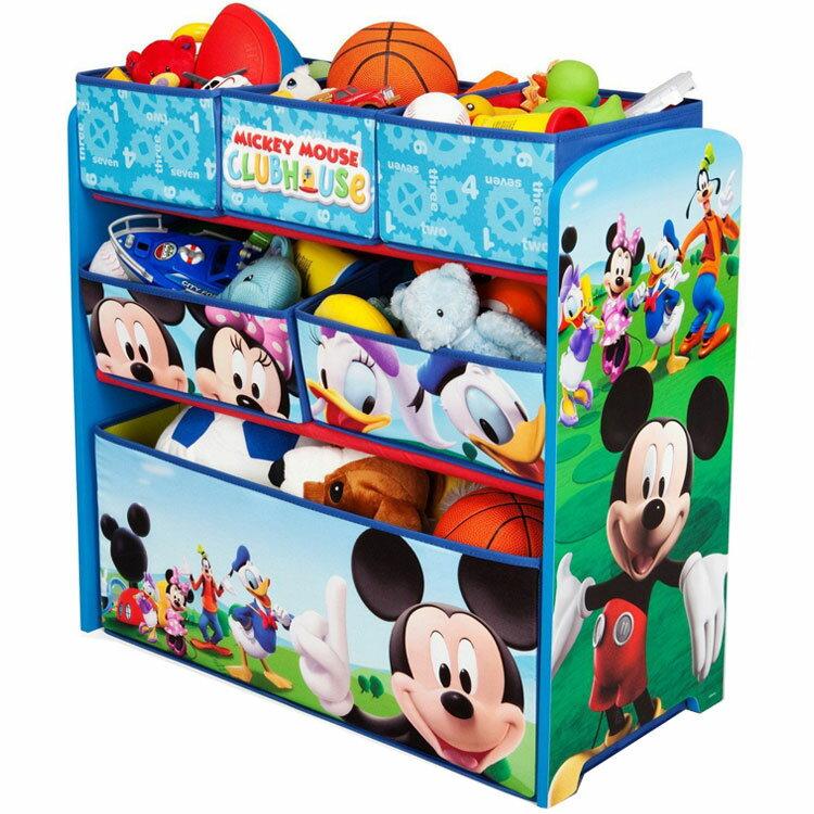 デルタディズニーミッキーマウスマルチおもちゃ箱子供3-6歳