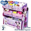 4月11日入荷予約販売/ Delta デルタ ディズニー ミニーマウス マルチ おもちゃ箱 子供 女の子 3-6歳