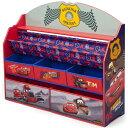 デルタ ディズニー ピクサー カーズ デラックス 本棚 おもちゃ箱