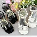 19941 白 黒 エナメル ローラアシュレー LAURA ASHLEY 靴 子供 用 キッズ こども 子ども 女の子 女児 ドレス ガールズ フォーマル シューズ