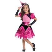 【店内全品ポイント10倍】【DM便不可】子供用 コスチューム バービー ウィッチ 90-135cm (886754) 魔女 魔法使い Barbie 子ども キッズ 女の子