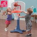 RoomClip商品情報 - STEP2 シュートフープ Jr. バスケットボール セット 7356WM