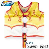子供用 スイムベスト トイストーリー ジェシー 2歳から フローティングベスト 浮き具 幼児 ライフジャケット SwimWaysの画像