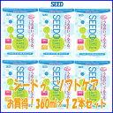 【送料無料!】シードSEEDO シードゥソフトケア360ml 12本セット(2本セット×6箱)1本あたりなんと396円!