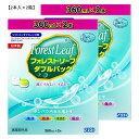 フォレストリーフ 360ml 4本セット(2本セット×2箱) シード SEED ソフト コンタクト こすり洗い すすぎ 消毒 保存液