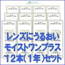 【送料無料!】レインボーコンタクト モイストワンプラス120ml 12本セット(約1年分