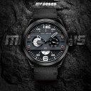 MINI FOCUS メンズ 男性用 腕時計 時計 スポーツ 欧米 海外人気 ミリタリーマルチ クォーツ カレンダーMF0068G