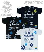 【G-1780】goleador ゴレアドール 通販:花柄プラクティスシャツの画像