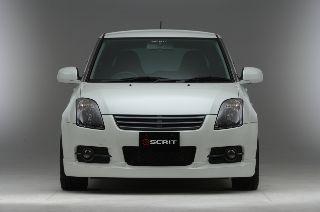 SCRITの、スイフトスポーツ エアロキット 2 (フロントスポイラー/サイドステップ/リアディフューザー)です。