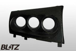BLITZ(ブリッツ) レーシングカーボンメーターパネルφ60 07/10- CZ4A ランサー エボX
