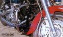 キジマ ドラッグスター/ドラッグスターC400用 デコレーションバンパーガード 405-209