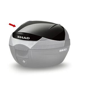 SHAD(シャッド) SH33 2017新モデル(D0B33200)専用カラーパネル ブラックメタル メーカー品番:D1B33E221 1枚【あす楽対応】