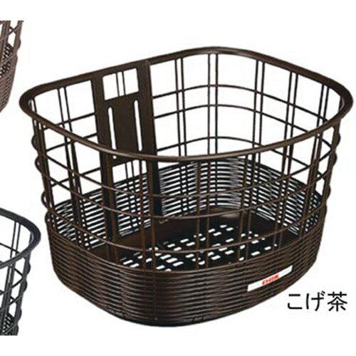 OGK(オージーケー技研) FB-037K 籐風フロントバスケット こげ茶 1個 メーカー品番:FB-037K