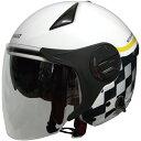 【送料無料】FS RN-999W ルノー Wシールドジェットヘルメット ホワイト 1個単位 RN-999W
