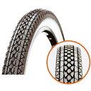 CST(チェンシン) 自転車タイヤ 26インチ C241 Cruiser H/E 26×2.125 ブラック/ホワイト 1本