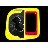 MADMAX(マッドマックス) PCX125 LEDスイッチカバー イエロー/レッド/赤発光 メーカー品番:MK17-0076YRR 1個【P01Jul16】