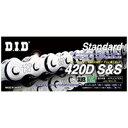 DID(大同工業) 420D-122L シルバー チェーン DID420D-122S 1本