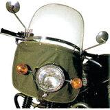 【最安挑戦中】旭風防 風防 ミニ パイプハンドル車用汎用風防 適合車種:パイプハンドル専用/50cc〜750cc  NO99MINI (オートバイ用外装・風防・汎用・シールド)