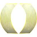 【エントリーでP10倍】ホイール・リム/アクスル リムステッカー 17インチ用 シルバー Optimum(オプティマム)