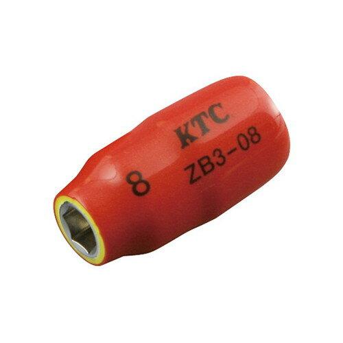 ZB3-08 絶縁工具(9.5SQ)ソケット 8mm KTC
