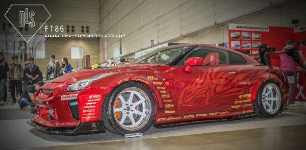GT-R R35 | エアロキット / フルエアロ セット【ビーエヌ スポーツ】GT-R35 BLS 8-PIECE SET
