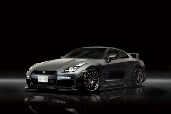 GT-R R35 | コンプリートボディキット【ロエン / トミーカイラ】GT-R R35 M/C前 (2007/12〜2010/11) FULL KIT Wet Carbon スポットLED 有